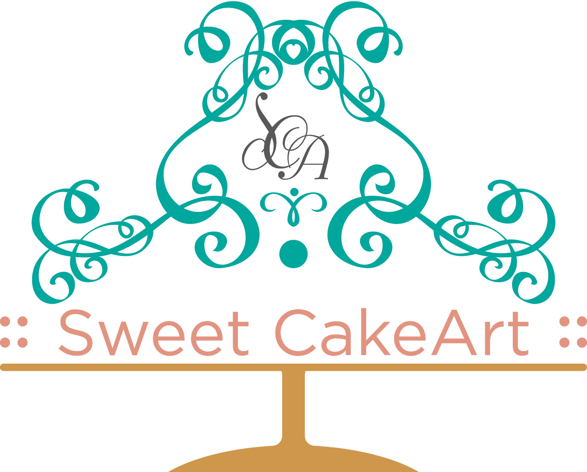 Sweet Cake Art Logo